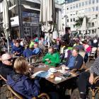 Halbmarathon 2017 in Bremen bei schönstem Laufwetter