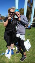 Sylvia und Viola Buenos Aires Halbmarathon